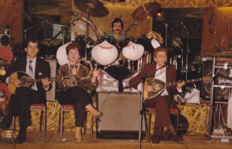 1983 Νίκος Καρανικόλας, Βούλα Γκίκα στο κέντρο Μύκονος Σύδνεϊ.