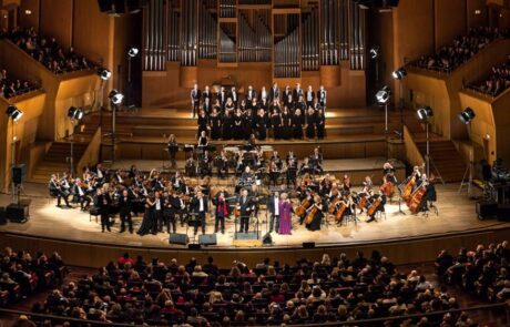 Tα 50 χρόνια του Γιώργου Κατσαρού γιορτάστηκαν στο Μέγαρο μουσικής τον Φεβρουάριο του 2016.